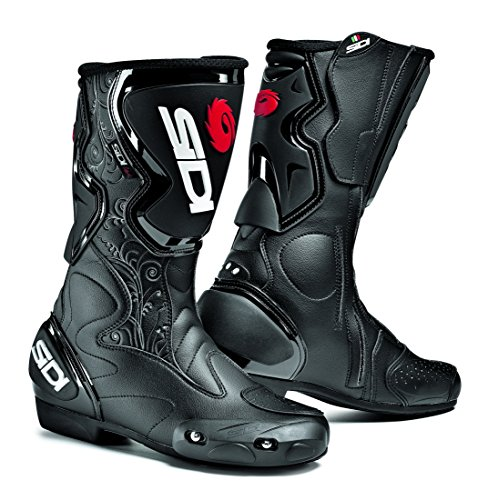 Sidi Fusion Lei Ladies Motorcycle Boots Black US8EU40 More Size Options