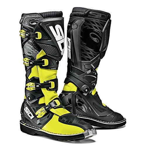 Sidi X-3 TA Off Road Motorcycle Boots BlackFlo Yellow US95EU43 More Size Options