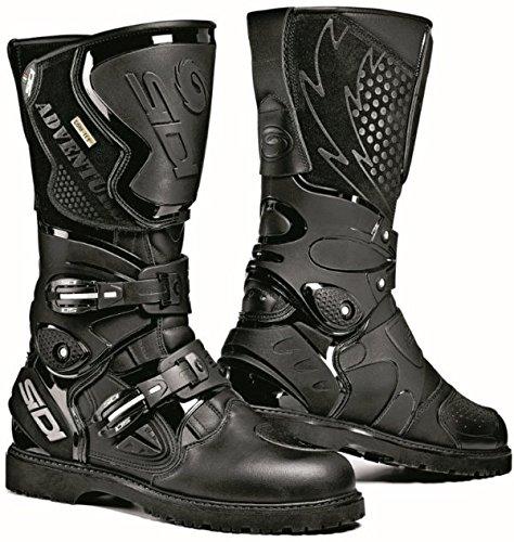 Sidi Adventure Gore Black Motorcycle Boots Size EU 43