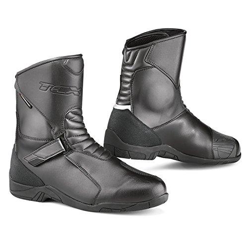 TCX Hub Black Motorcycle Boot 7170W 42  85