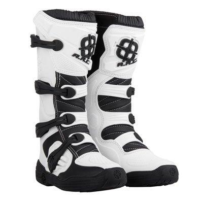 ARC Corona Motocross Boot - White - Size 9 Mens - Includes Socks