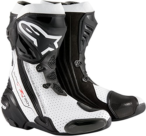 ALPINESTARS Boot Stech R Black  White 46 US Size 115