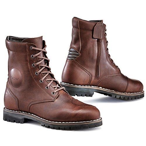 TCX 7295W Hero Mens Street Motorcycle Boots - Vintage Brown Size Eu 41  Us 8