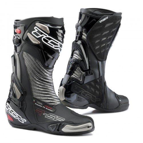TCX 7616 R-S2 Evo Mens Street Motorcycle Boots - BlackGraphite Size Eu 46  Us 12