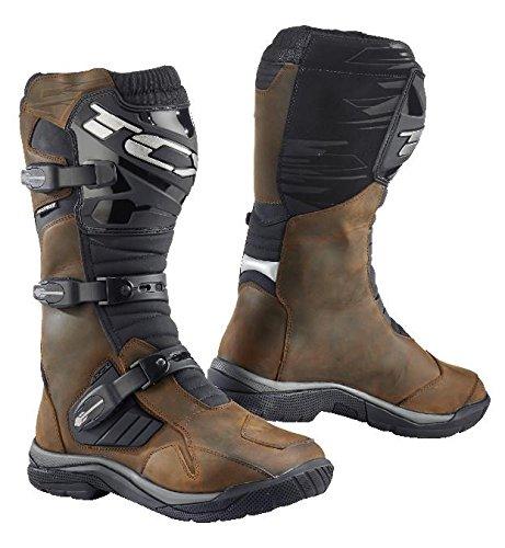 TCX Baja Waterproof Adventure Motorcycle Boots Brown EU45US11 More Size Options