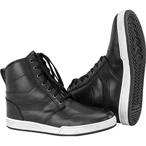 Black Brand Deceptor Mens Street Motorcycle Boots - Black  Size 11