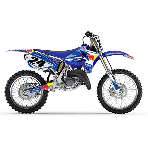 YAMAHA YZ 125 250 2006-2012 BLUE BULL MX MOTOCROSS DECAL KIT