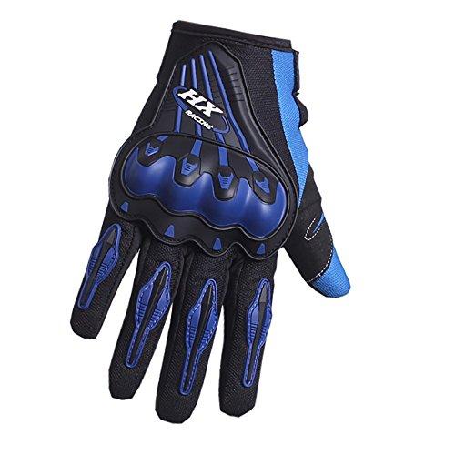 Pro-Biker Motorbike mitts Gloves Motorcycle Moto Luvas Motociclismo Para Guantes motocross Racing Motorcycler gloves L Blue
