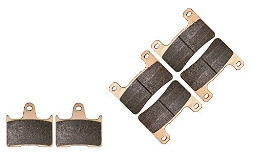 CNBK Sintering HH Brake Shoe Pads Set for SUZUKI Street Bike GSX-R600 GSXR600 GSXR GSX R GSX-R 600 cc 600cc K4 K5 2004 2005 04 05 6 Pads