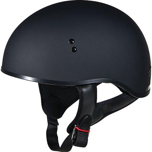 GMAX GM45 Naked Adult Harley Motorcycle Helmet - Flat Black  Large