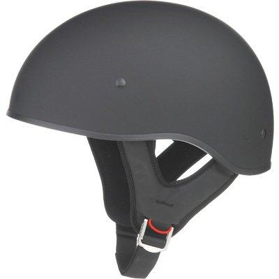 GMAX GM65 Naked Adult Harley Cruiser Motorcycle Helmet - Flat Black  Medium