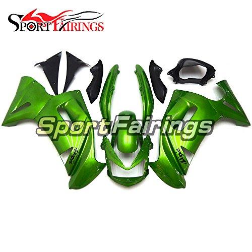 Sportfairings Plastic ABS Fairing kits For Kawasaki Ninja 650R ER-6F Year 2006 2007 2008 Full Green Covers Cowling