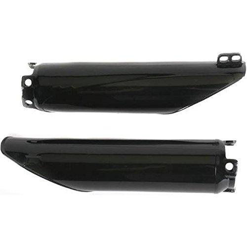 UFO KA04739-001 Replacement Plastic FOR KAWASAKI FORK COVERS KXF450 BLACK
