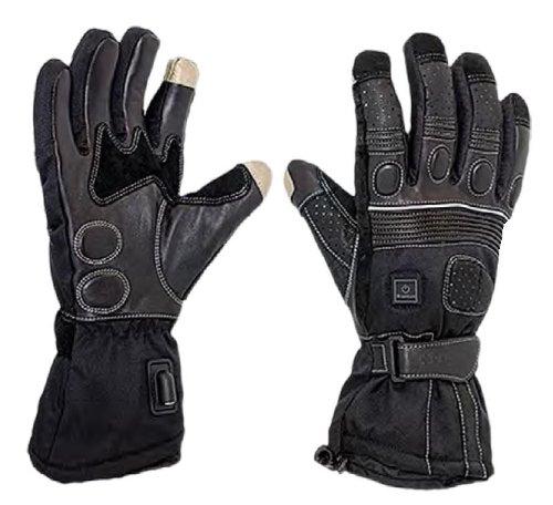 Venture 12V Heated Grand Touring Gloves  Gender MensUnisex Primary Color Black Size 3XL Distinct Name Black MC-225 3
