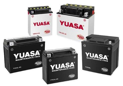 Yuasa YHD-12H Conventional Battery for 1965-1984 Harley Davidson Models