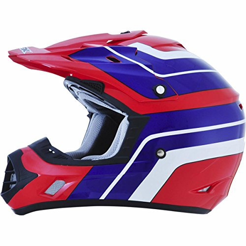 AFX FX-17 Vintage Honda Factor Mens Motocross Helmets - Medium