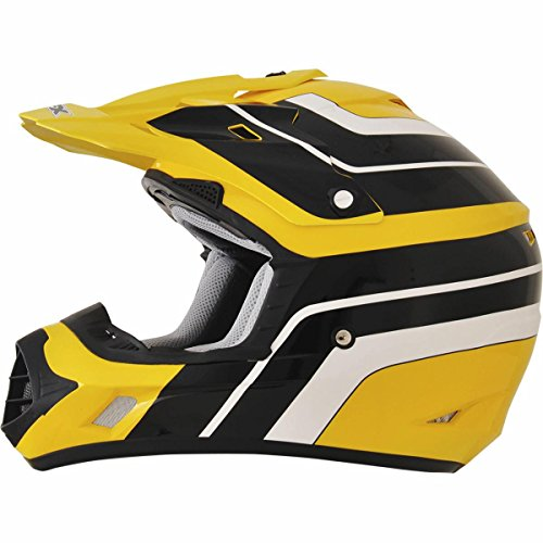 AFX FX-17 Vintage Yamaha Factor Mens Motocross Helmets - Medium