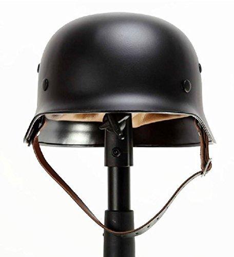 9milelake Black Ww2 German Elite Wh Army M35 M1935 Steel Helmet Stahlhelm Black