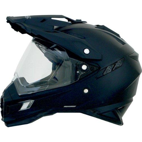 AFX FX-41DS Solid Helmet  Gender MensUnisex Helmet Type Offroad Helmets Helmet Category Offroad Distinct Name Flat Black Primary Color Black Size Md 0110-3738