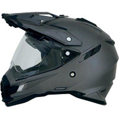 AFX FX-41DS Solid Helmet  Gender MensUnisex Helmet Type Offroad Helmets Helmet Category Offroad Distinct Name Frost Gray Primary Color Gray Size Md 0110-3762