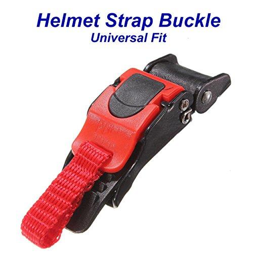 Helmet Strap Buckle With Quick Release