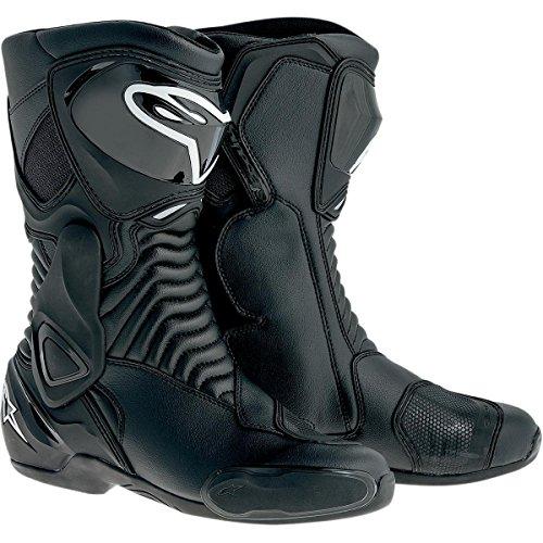 Alpinestars SMX-6 Mens Motorcycle Street Boots Black EU Size 49