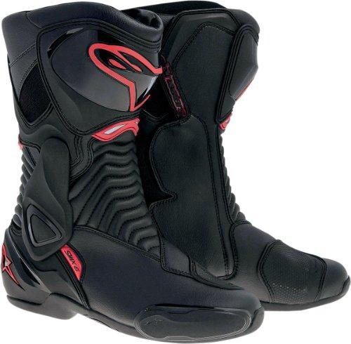 Alpinestars SMX-6 Mens Motorcycle Street Boots BlackRed EU Size 48