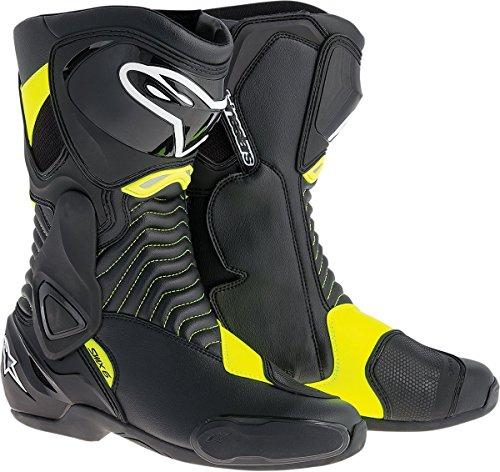 Alpinestars SMX-6 Mens Motorcycle Street Boots BlackYellow EU Size 41