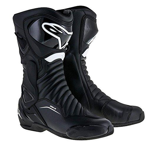 Alpinestars SMX-6 V2 Drystar Mens Motorcycle Boots - Black - 43