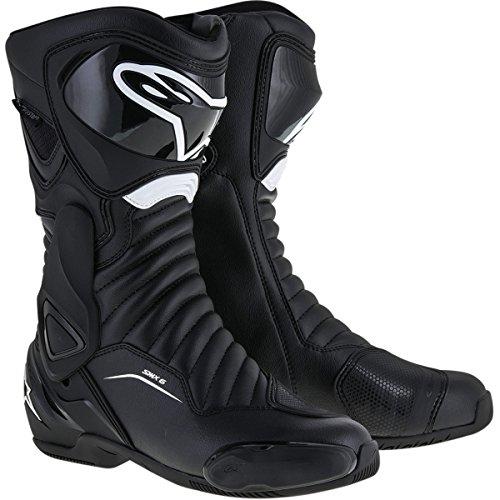 Alpinestars SMX-6 V2 Mens Street Motorcycle Boots - Black  45