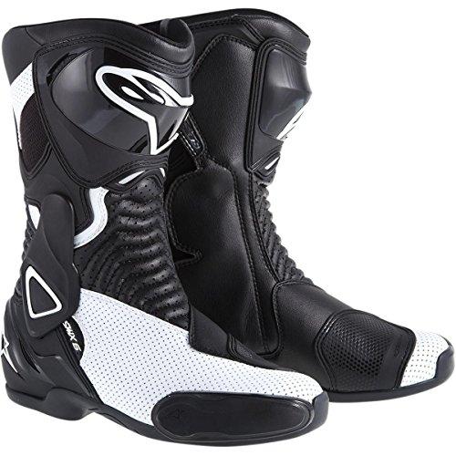 Alpinestars SMX-6 Vented Womens Street Motorcycle Boots - BlackWhite  43