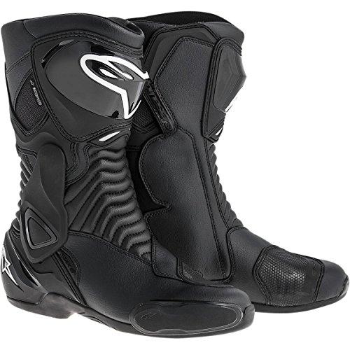 Alpinestars SMX-6 Waterproof Mens Street Motorcycle Boots - Black  47
