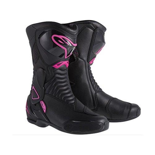 Alpinestars SMX-6 Womens Street Motorcycle Boots - BlackPink  36