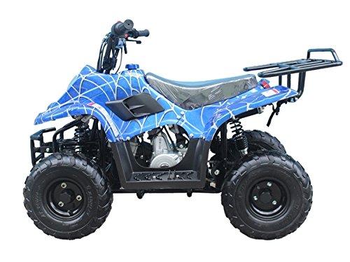 Brand new 110cc ATV Fully Automatic Gas 4 Wheeler ATV for Kids - Brand New COLOR   BLUE SPIDER