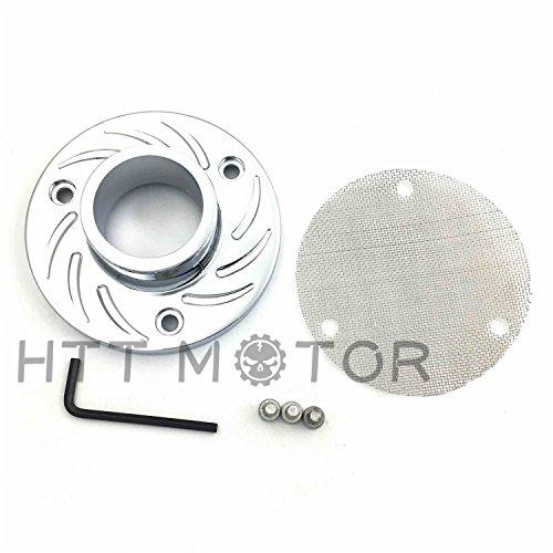 HTTMT- ATV Exhaust Tip Muffler Chrome For 2006 Honda Foreman Rubicon 500 FourTrax