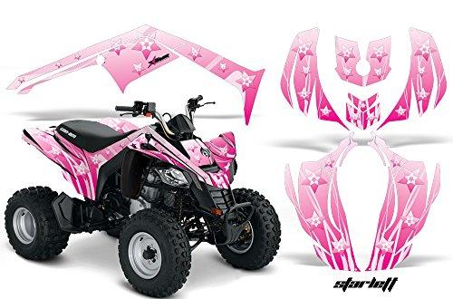 AMR Racing Graphics Can-Am DS-250 2006-2016 ATV Vinyl Wrap Kit - Starlett Pink
