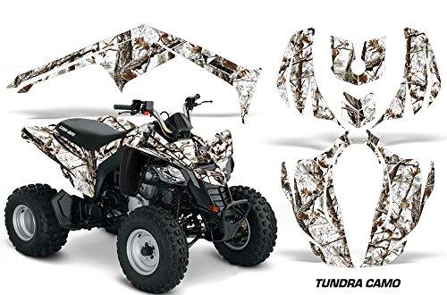 AMR Racing Graphics Can-Am DS-250 2006-2016 ATV Vinyl Wrap Kit - Tundra Camo