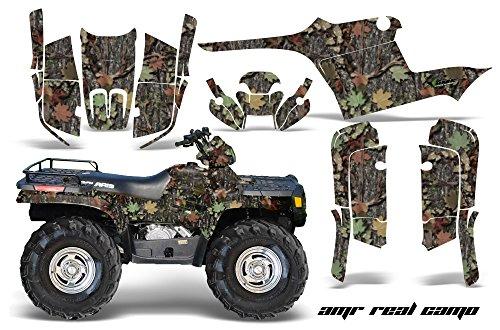 AMRRACING Polaris Sportsman 400500600700 1995-2004 Full Custom ATV Graphics Decal Kit - AMR Real Camo