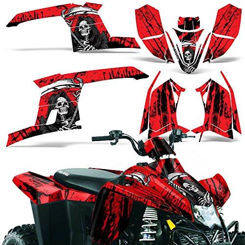 Polaris Trailblazer330 2010-2013 Decal Graphic Kit ATV Quad Wrap Part Deco Trailblazer 330 REAPER RED