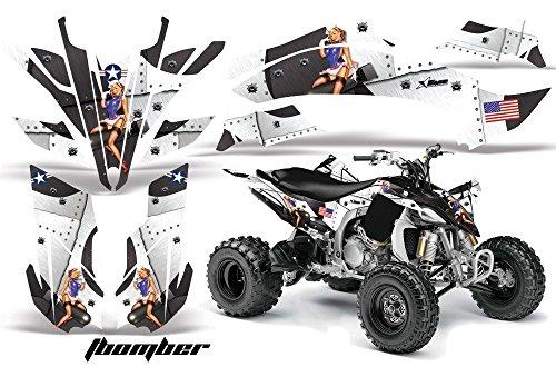 2009-2013 Yamaha YFZ450R YFZ450X AMRRACING MX Graphics Decal KitT-Bomber-White