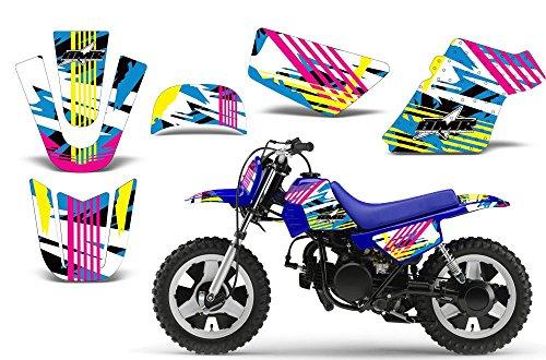 Flashback-AMRRACING MX Graphics decal kit fits Yamaha PW50 All years-Flashback