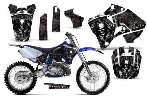 Reaper-AMRRACING MX Graphics decal kit fits Yamaha YZ 125250 1996-2001-Black