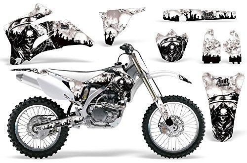 Reaper-AMRRACING MX Graphics decal kit fits Yamaha YZ250F YZ450F 2006-2009-White