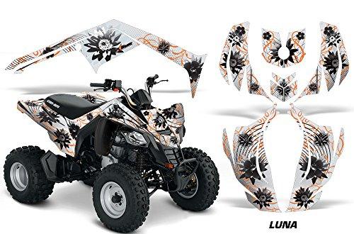 AMR Racing Graphics Can-Am DS-250 2006-2016 ATV Vinyl Wrap Kit - Luna Orange