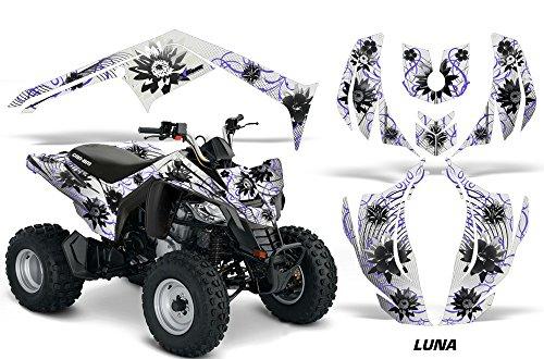 AMR Racing Graphics Can-Am DS-250 2006-2016 ATV Vinyl Wrap Kit - Luna Purple