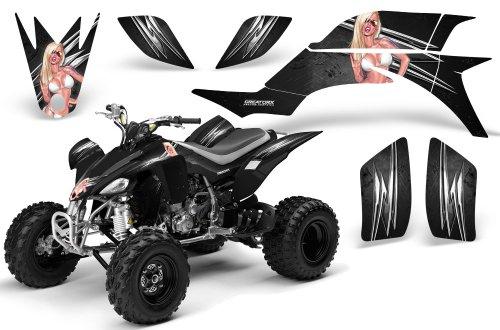 CreatorX Yamaha Yfz 450 Atv Graphics Kit Decals Stickers You Rock Black