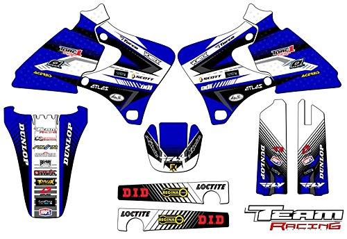 Team Racing Graphics kit for 1998-2002 Yamaha YZ 250F400F426F ANALOG Base kit