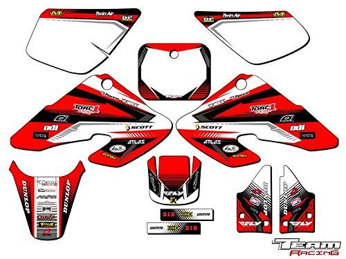 Team Racing Graphics kit for 2000-2003 Honda XR 50 ANALOG