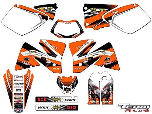 Team Racing Graphics kit for 2001-2002 KTM EXC ANALOGComplete kit