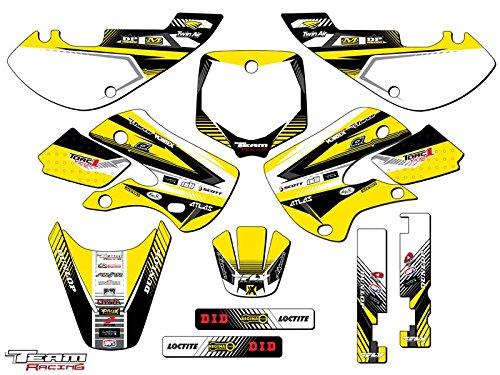Team Racing Graphics kit for 2002-2009 Suzuki DRZ 110 ANALOG Complete Kit